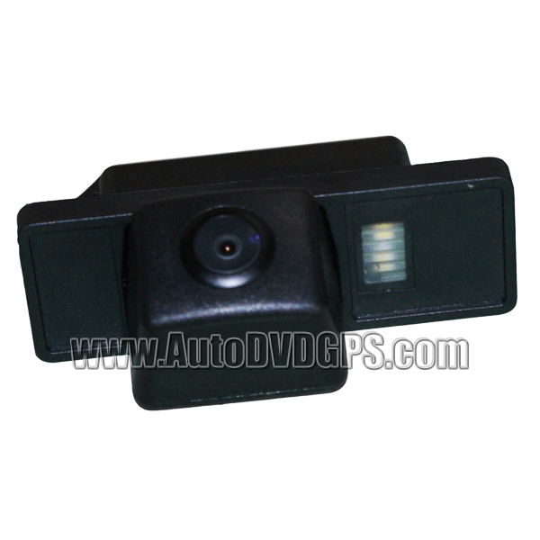 Car Reverse Rearview 136 chip camera for Peugeot 408 PAL