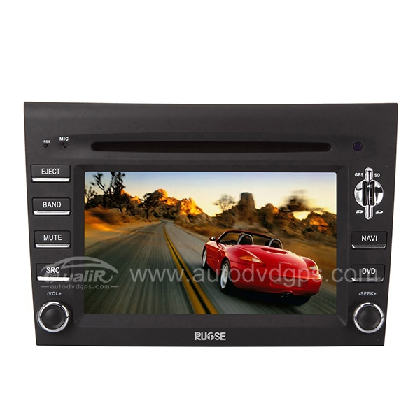 7 Inch Digital Touchscreen Monitor DVD Navigation System for Porsche 911 997 BOXTER CAYMAN
