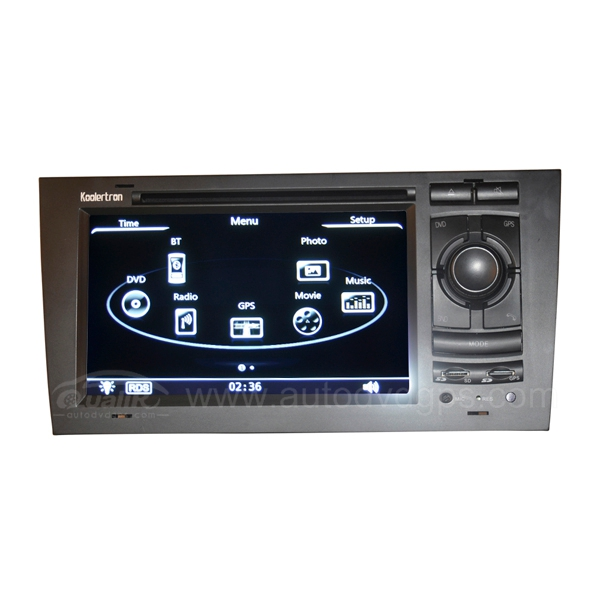 Audi A6 DVD GPS Navigation System with 7 Inch TFT LCD Touchscreen Monitor