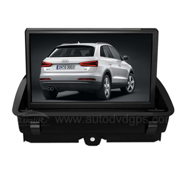 Car DVD GPS Navigation For 2012 2013 AUDI Q3 With dual-core/3Zone POP 3G/WIFI/20 Disc CDC/ DVD Recording/ Phonebook / Game