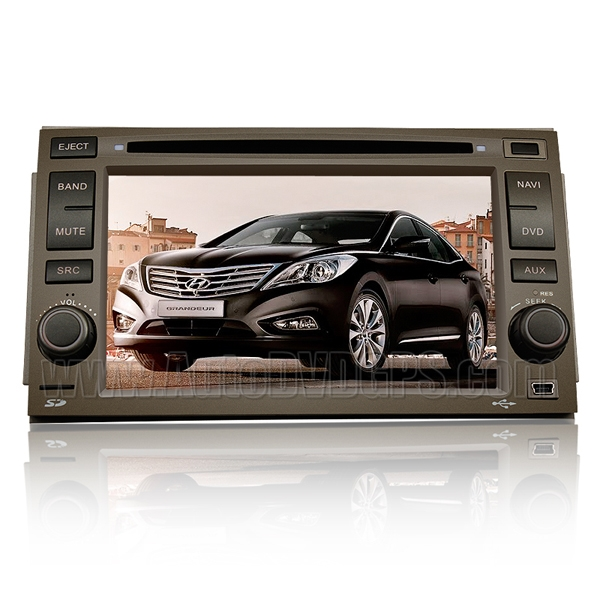 2006-2011 Hyundai Azera Car DVD player with built-in GPS Navigation / Digital Screen / PIP Bluetooth