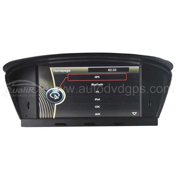 "8"" HD Touchscreen GPS Navigation With CDC Bluetooth iPod for BMW 2003 04 05 06 07 08 09 2010 5 Series E60 E61 E63 E64 M5"