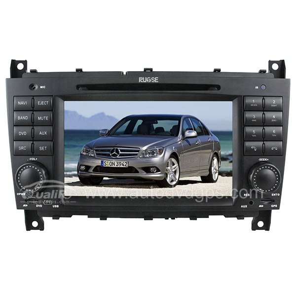HD touchcreen DVD-based Navigation System with iPod Bluetooth for MERCEDES BENZ C-Class W203 2004-2007/CLK W209 2004-2005 /CLC