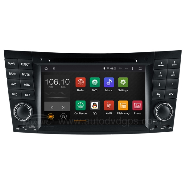 Dual Core Android 4.4.4 Car DVD Player for Mercedes Benz E-Class W211 (2002-2008) / Benz CLS-Class W219 (2005-2006) / Benz CLK-Class W209 (2005-2006) / Benz G-Class W463 (2001-2008)