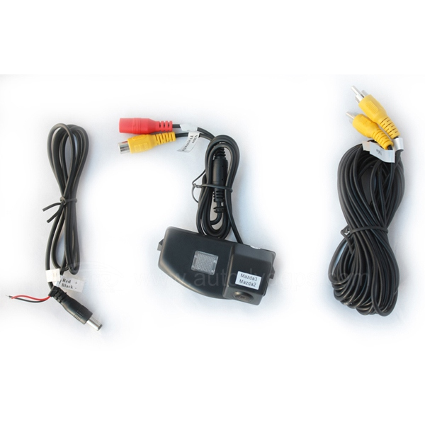 Car Reverse Rearview 136 chip camera for Mazda 3 Mazda 2 PAL
