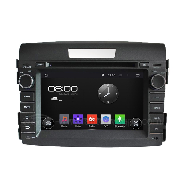 7 Inch Android 4.4 DVD Navigation System for 2012 2013 2014 2015 Honda CRV with Capacitive Screen, Radio, Bluetooth, USB/SD Slot