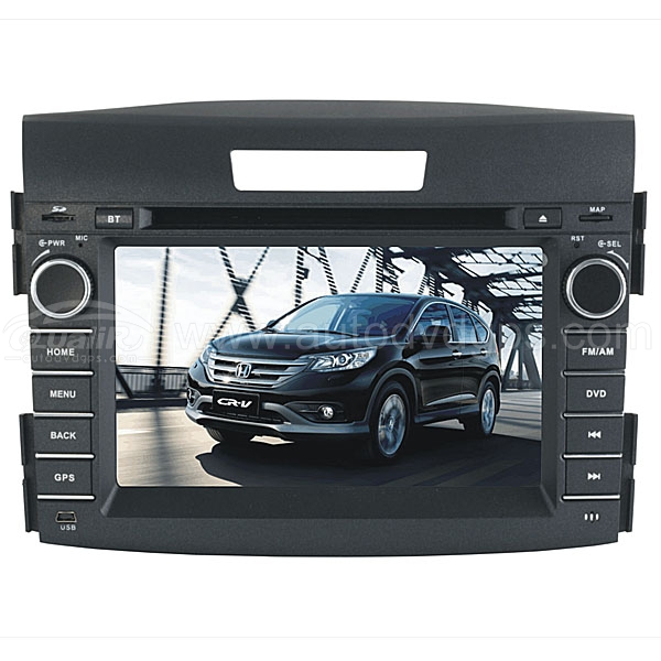 "2012 Honda CR-V Android DVD GPS Player With 7"" Touchscreen 3G/WIFI"