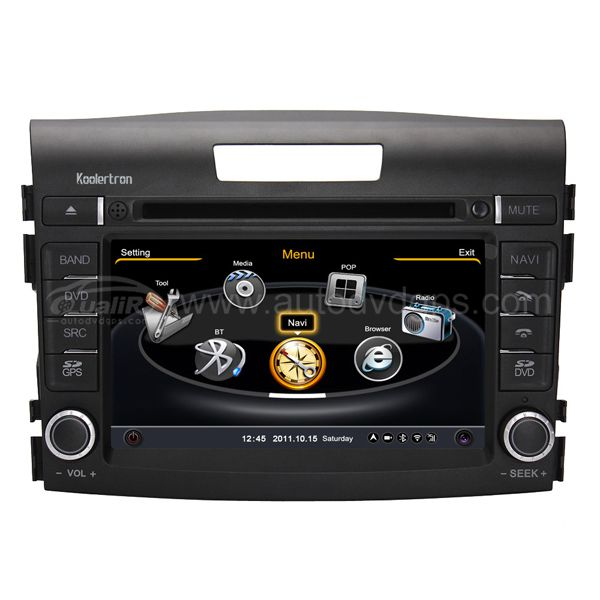 Upgraded 2012 Honda CR-V DVD GPS Navigation With 3 Zone/POP 3G/WIFI/20 Disc CDC/DVD Recording/Phonebook/Game