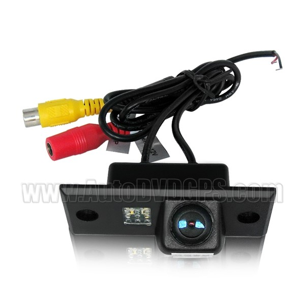 Car Reverse Rearview 136 chip camera for TOUAREG& PORSCHE CAYENNE& POLO& FABIA PAL