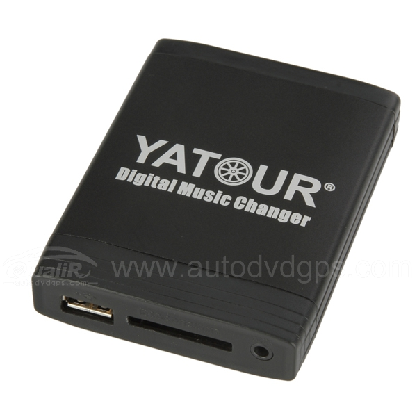 Yatour 12 pin Car Digital Music Changer with USB SD MP3 Bluetooth (optional) for VW AUDI SKODA