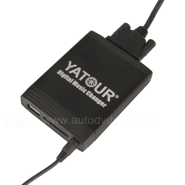 Yatour Car Digital Music Changer USB SD MP3 + Bluetooth (optional) for Peugeot 206 2006 406 807 Citroen C3 C5 C8 with RD3 radio