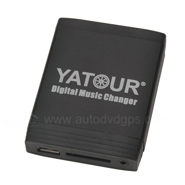 Yatour Car Digital Music Changer USB SD MP3 + Bluetooth (optional) for Renault SERIES
