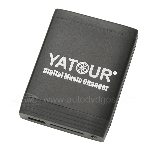 Yatour Car Digital Music Changer USB SD MP3 + Bluetooth (optional) for Volvo with SC radio