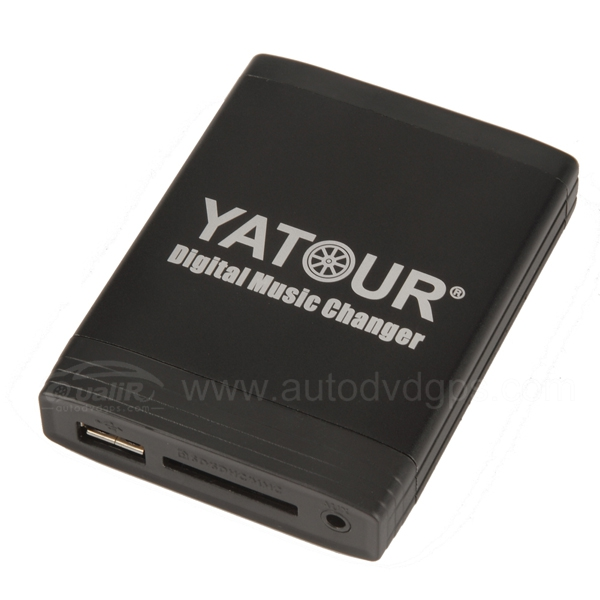 Yatour Car Digital Music Changer USB SD MP3 + Bluetooth (optional) for SUZUKI with Clarion OEM radio