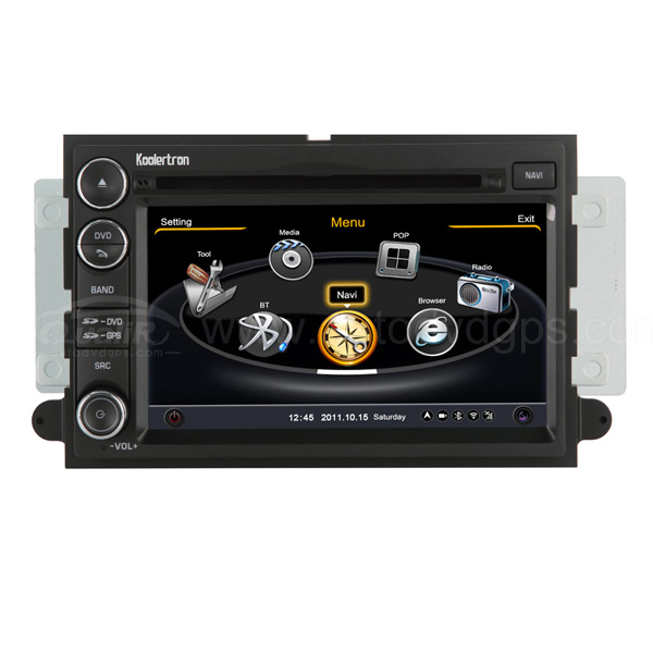 Car DVD GPS Navigation With dual-core/3Zone POP 3G/WIFI/20 Disc CDC/ DVD Recording/ Phonebook / Game For 2004-06 Ford Focus