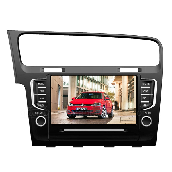 "7"" Car DVD GPS Navigation System for VW Golf7 with BT, iPod/SD/USB Slot, Bluetooth Handsfree, Radio"