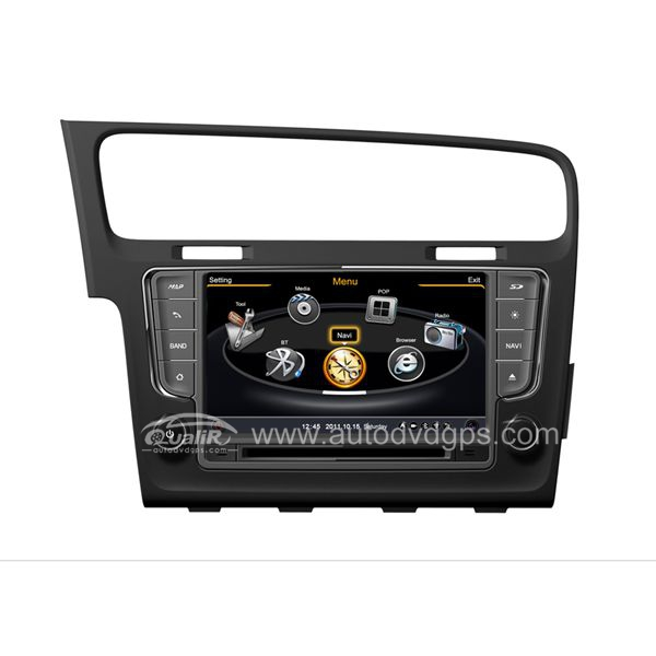 Car DVD GPS Navigation With dual-core/3Zone POP 3G/WIFI/20 Disc CDC/ DVD Recording/ Phonebook / Game For 2013 2014 VW Golf7