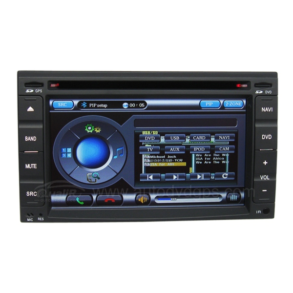Hyundai Terracan DVD player
