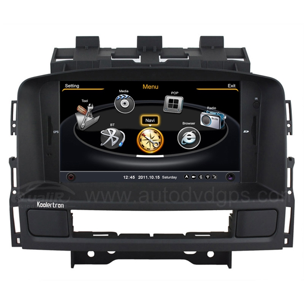 Upgraded 7 Inch GPS Navigation System With 3 Zone/POP/3G/WIFI/DVD Recording/Phonebook/Game For 2011-2014 Opel ASTRA J