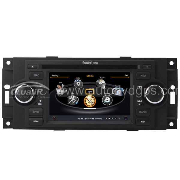 Car DVD GPS Navigation System for 2007-2010 Jeep Commander / 2007-2008 Compass / 2007 Grand Cherokee / 2006-2009 Patriot