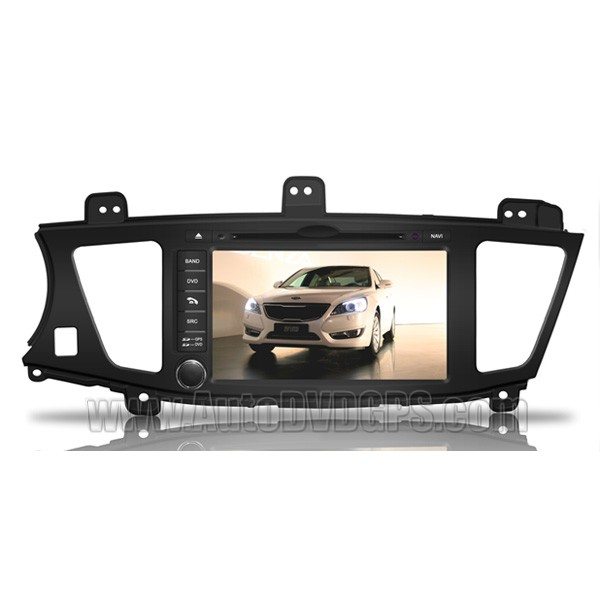 Car DVD Player with GPS navigation and 8 Inch HD touchscreen and Bluetooth for KIA  Cadenza