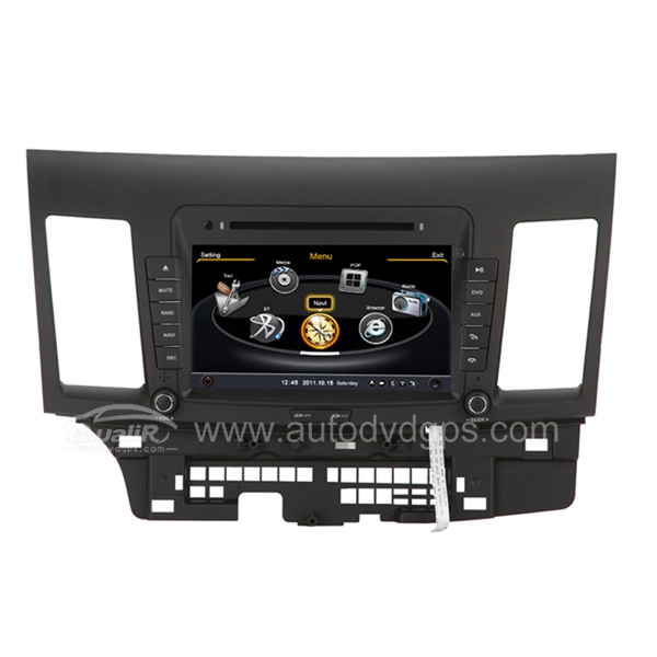 Car DVD GPS Navigation for 2007-2015 Mitsubishi Lancer with Dual-core/3Zone POP 3G/WIFI/20 Disc CDC/DVD Recording/Phonebook/Game