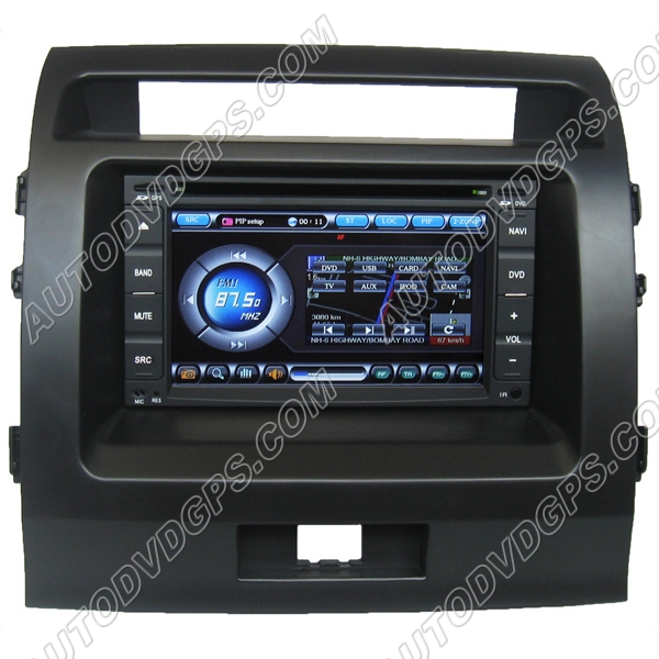 Toyota Land Cruiser single din unit