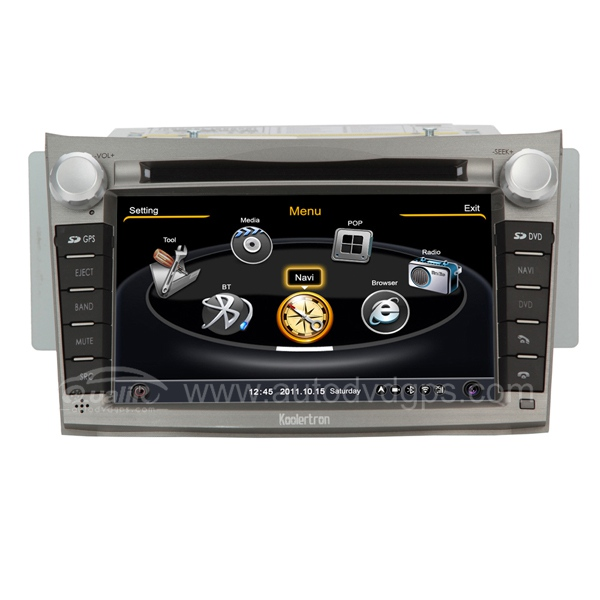 Car DVD GPS Navigation s100 System With dual-core/3Zone POP 3G/WIFI/20 Disc CDC/ DVD Recording/ Phonebook / Game For 2009-2013 Subaru Legacy