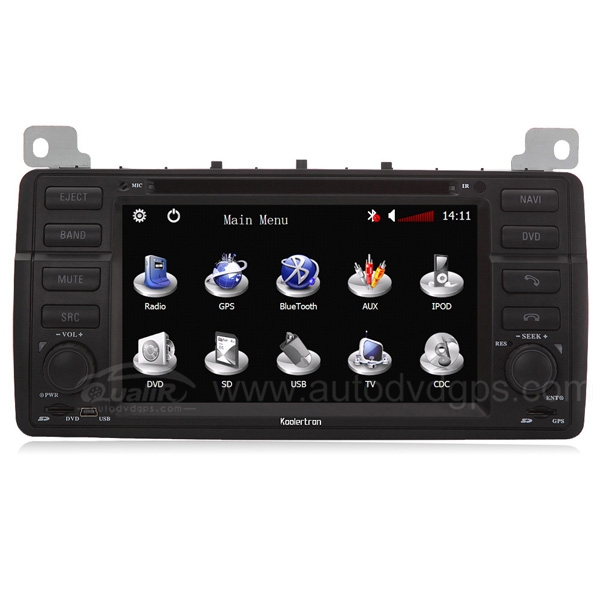 MG ZT, Rover 75 Car DVD Player with in-dash GPS navigation and 7 Inch Digital Touchscreen TFT LCD Monitor