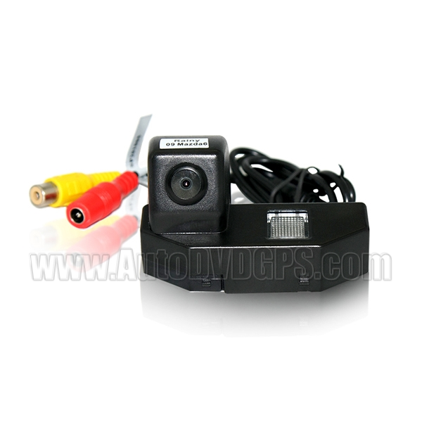 Car Reverse Rearview CMOS camera for 09 Mazda 6 NTSC +Guard Line