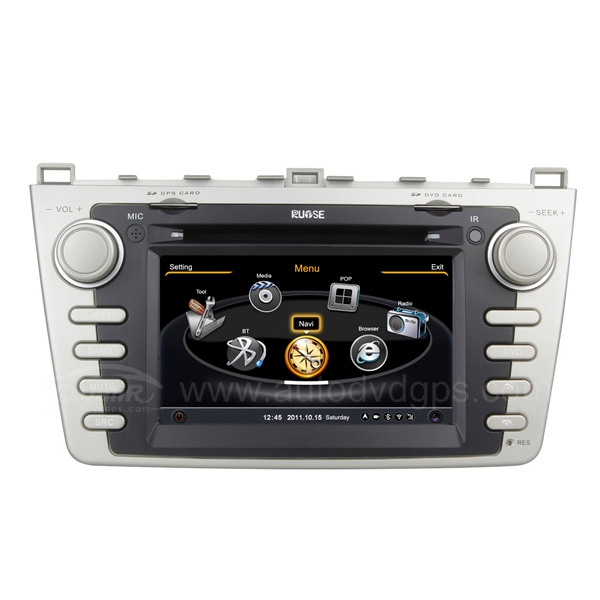 7 Inch Upgraded 2008-2010 Mazda 6 Navigation System With 3 Zone/POP/3G/WIFI/DVD Recording/Phonebook/Game