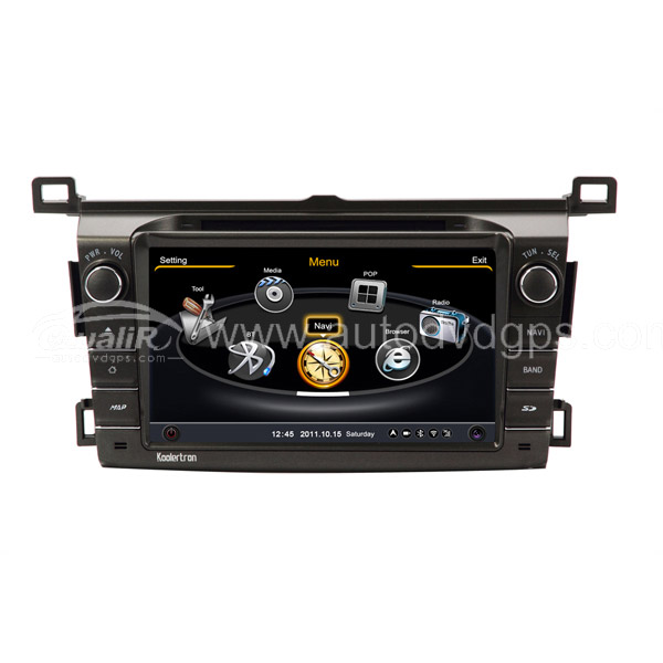 New Car DVD GPS Navigation With dual-core/3Zone POP 3G/WIFI/20 Disc CDC/ DVD Recording/ Phonebook / Game For 2013 TOYOTA RAV4
