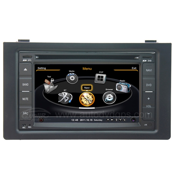 SAAB 9-3, 93 Car DVD Player with (GPS Navigation, Digital Touchscreen, PIP, Bluetooth)