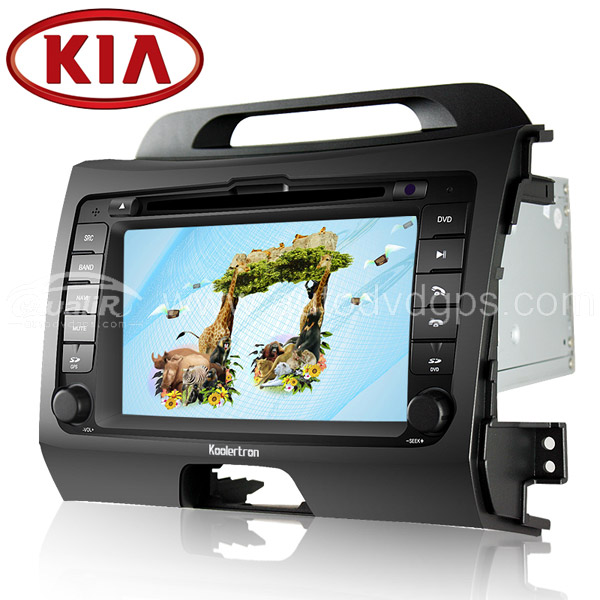 2010 2011 2012 2013 KIA Sportage GPS Navigation With 3 Zone/POP 3G/WIFI/20 Disc CDC/DVD Recording/Phonebook/Game