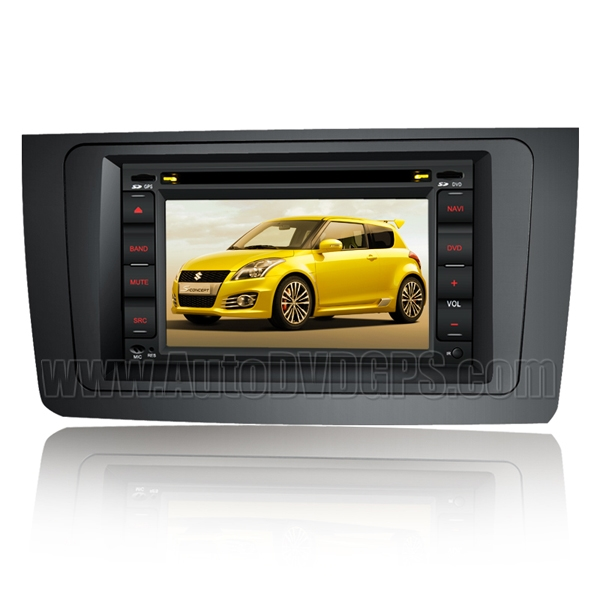 Car DVD GPS Navigation player with Digital HD touchscreen RDS Bluetooth iPod for Suzuki Swift
