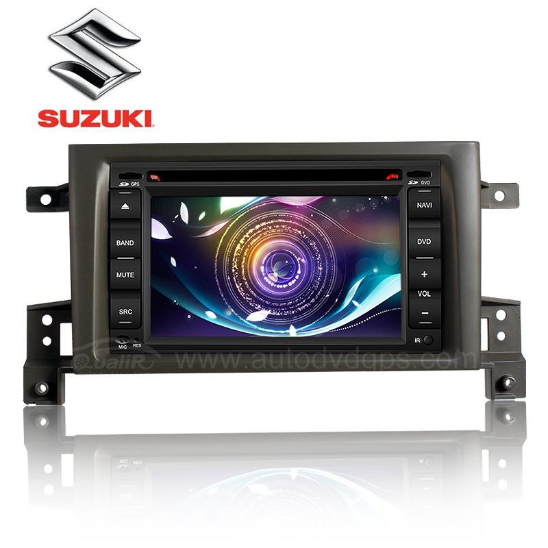 Car DVD Navigation with 6.2 Inch digital touchscreen and Bluetooth RDS PIP V-CDC for Suzuki Grand Vitara