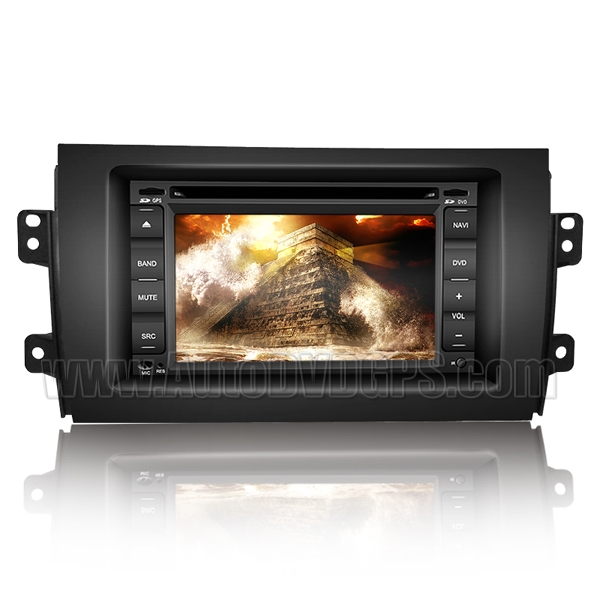 Car DVD Player with GPS Navigation system and Digital HD touchscreen / SWC PIP RDS BT iPod Control for Suzuki SX4