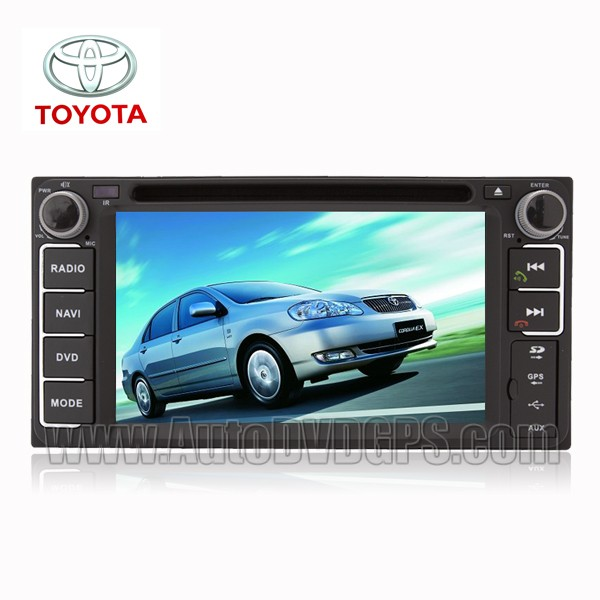 2 DIN DVD GPS player and Bluetooth iPod TV RDS SWC for Camry 2002-2006