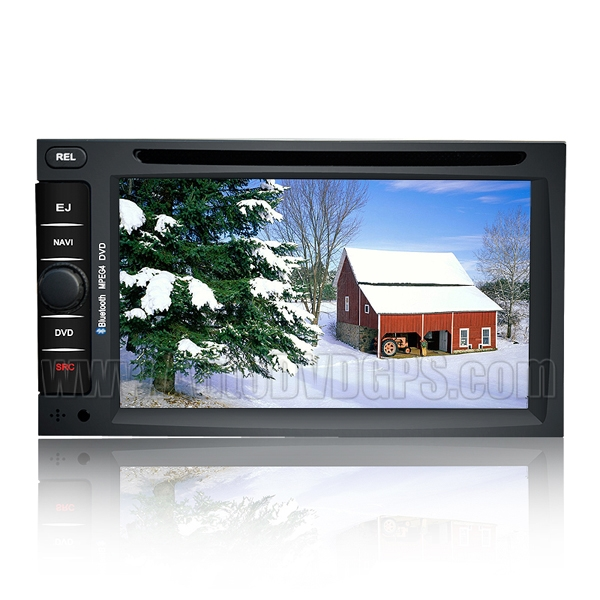Detachable Auto DVD Stereo with GPS Navigation and Digital Monitor and Bluetooth