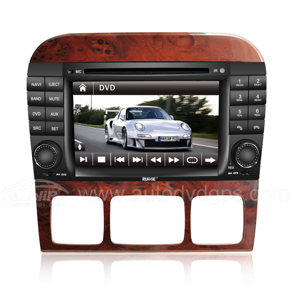 7 Inch HD Touch Screen DVD GPS Navigation System with iPod Bluetooth for MERCEDES Benz S-CLASS W220 S280 S320 S350 S400 S420 S430 S500 S600