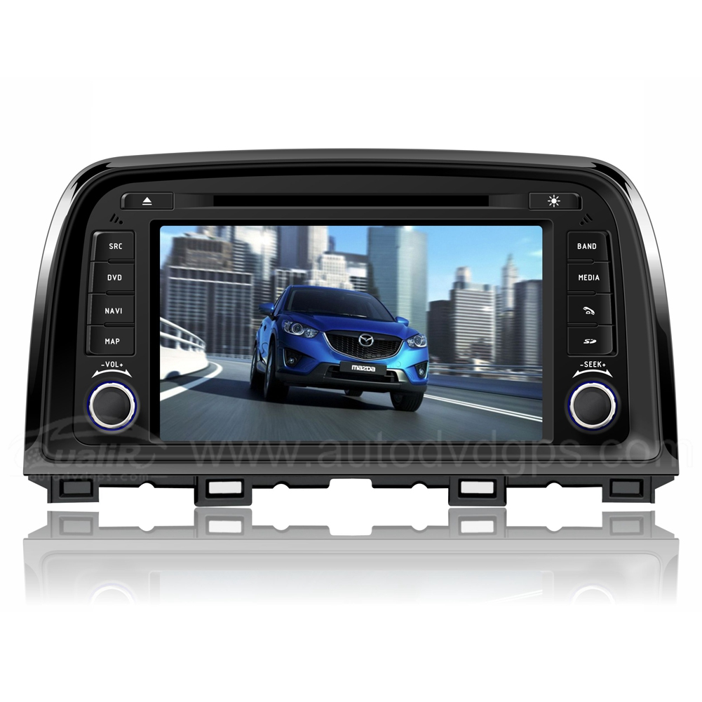 Car DVD GPS Navigation With dual-core/2D/3D map software/3G/ Wifi/DVD Recording/Phonebook/ Game For MAZDA CX-5