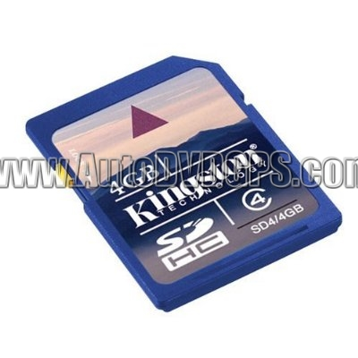 Kingston 4 GB SDHC Class 6 Flash Memory Card SD4/4GB