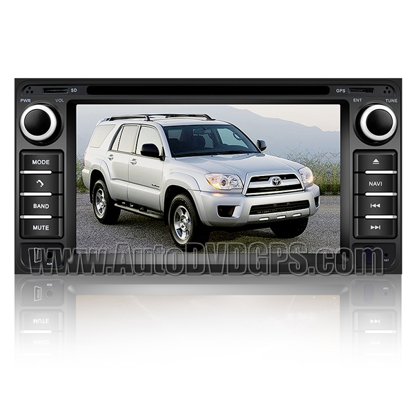 Custron T1062TYT OEM Factory-Style DVD GPS Navi Radio For Toyota 4Runner + Bluetooth Handsfree iPOD Phonebook