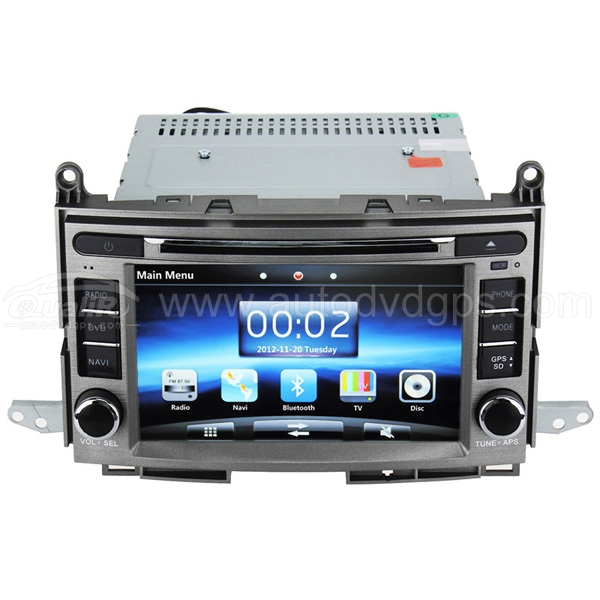 2008-2011 Toyota VENZA Dvd Player With 7 Inch Digital HD Touchscreen SWC iPod BT Control