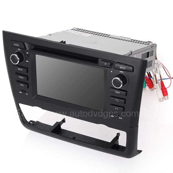 BMW 1 Series E81 E82 E87 E88 DVD Navigation System with 6.2 Inch HD touchcreen /for Automatic Air-conditioner