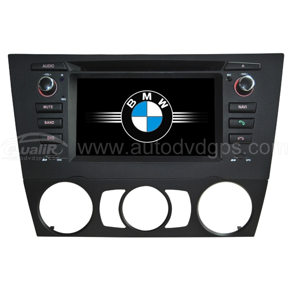2 DIN DVD Player Navigation System with 6.2 Inch HD touchcreen for BMW 3-Series E90 E91 E92 E93 320 325 328 330 335 and Stick shift