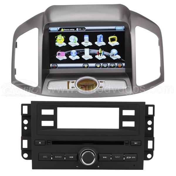 DVD GPS Player with 8 Inch Digital Touchscreen and Bluetooth PIP CDC For 2012 Chevrolet Captiva