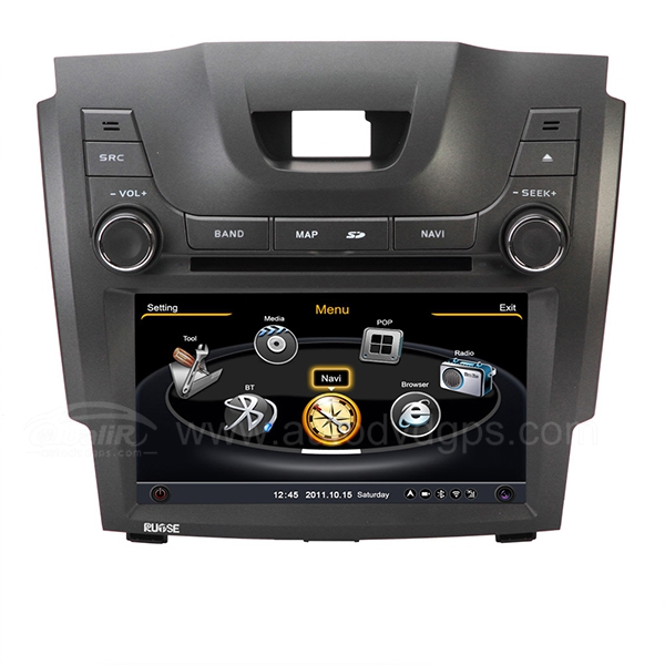 Car DVD GPS Navigation With dual-core/3Zone POP 3G/WIFI/20 Disc CDC/ DVD Recording/ Phonebook / Game For Chevrolet S10 Holden Colorado