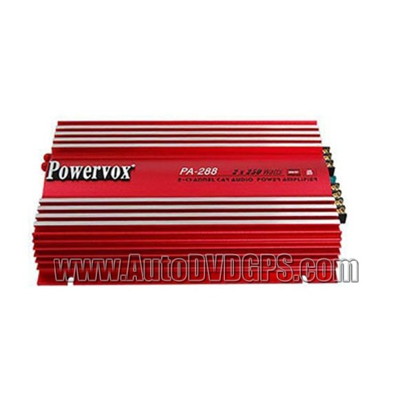Car Audio Power Amplifier 500 Watt, 2 Channel
