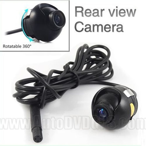 360 Degree Eyeball Reverse Backup Rear View Car Camera Waterproof Wide Angle